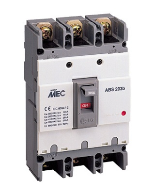 Picture of MCCB LS 3 cực, 175A, 25kA - ABS203b