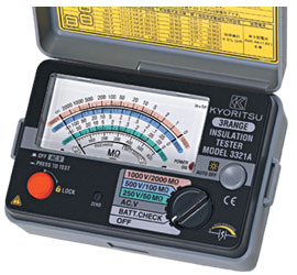 Picture of Đồng hồ đo điện trở cách điện Kyoritsu - 3321