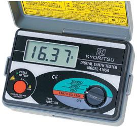 Picture of Đồng hồ đo điện trở đất Kyoritsu - 4105A