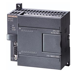 Picture of CPU 222, DC PS, 8DI DC/6DO DC - SIEMENS