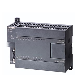 Picture of CPU 224, DC PS, 14DI DC/10DO DC - SIEMENS