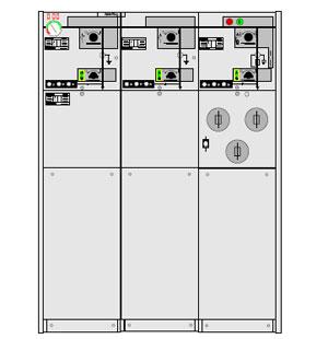 Picture of Tủ điện RMU 24KV 630A ABB-CCF
