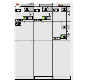 Picture of Tủ điện RMU 24KV 630A ABB-CCV