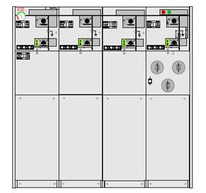 Picture of Tủ điện RMU 24KV 630A ABB-CCCF