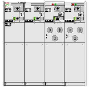 Picture of Tủ điện RMU 24KV 630A ABB-CCFF