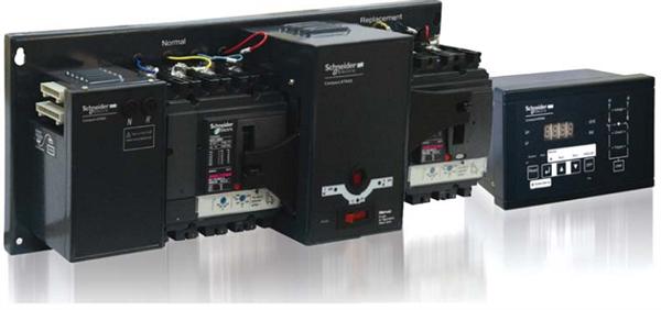 Picture of Bộ chuyển đổi nguồn tự động ATNSX Schneider 3P, 100A, 36kA - LV429630ATNSX12A