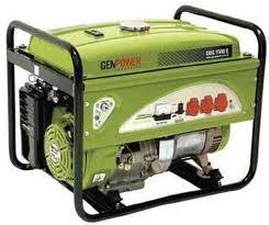 Picture of Máy phát điện chạy xăng Genpower 8  KVA, 230V - GBG8000E