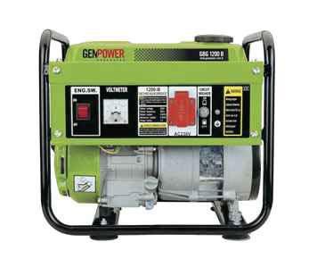 Picture of Máy phát điện chạy xăng Genpower 8 KVA , 230/400 V - GBG 8000TE
