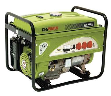 Picture of Máy phát điện chạy xăng Genpower 12 KVA , 230 V - GBG 12000 ME