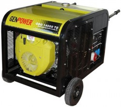 Picture of Máy phát điện chạy xăng Genpower 14 KVA , 230/400 V - GBG 14000 TE