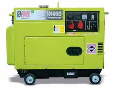Picture of Máy phát điện chạy dầu diesel Genpower 4 KVA , 230V - GDG4000EC