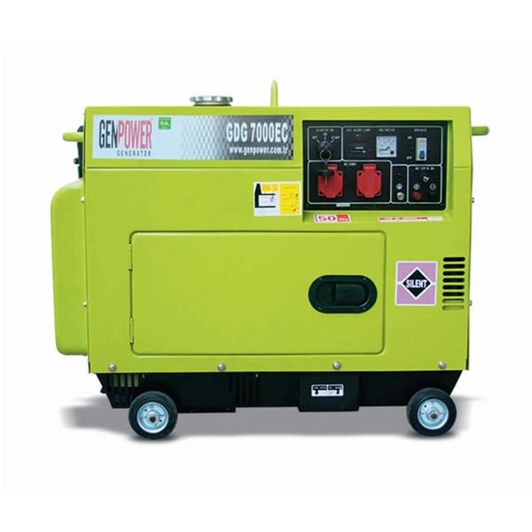 Picture of Máy phát điện chạy dầu diesel Genpower  7 kVA , 230V - GDG7000EC
