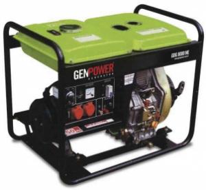 Picture of Máy phát điện chạy dầu diesel Genpower 8 kVA , 230 V - GDG8000ME