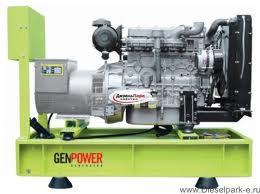 Picture of Máy phát điện chạy dầu diesel Genpower 231/400 V -13kVA - GNT13