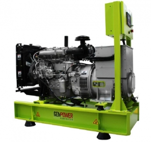 Picture of Máy phát điện chạy dầu diesel Genpower 231/400 V - 33kVA - GNT33