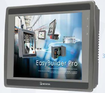 Picture of EMT3105P màn hình cảm ứng HMI WEINTEK 10,4 INCH MẦU