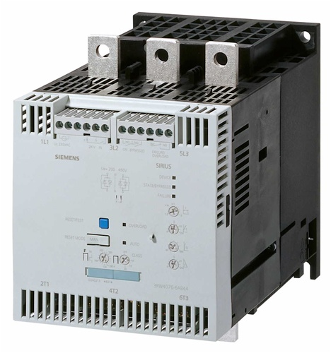 Picture of Bộ khởi động mềm Siemens 3RW4037-1BB14, AC/DC 110 - 230V, 63A,30KW, 200V ~ 480V