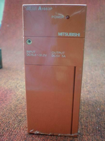Picture of  PLC Mitsubishi Power Supply  A1S63P