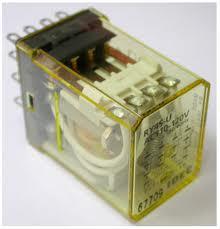 Picture of IDEC Rơ le loại lớn, 2 cực, Imax=5A, 8 chân RM2S-UL-AC24