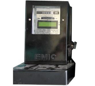Picture of Công tơ điện từ 3pha 3 giá 5A, CCX2 Emic