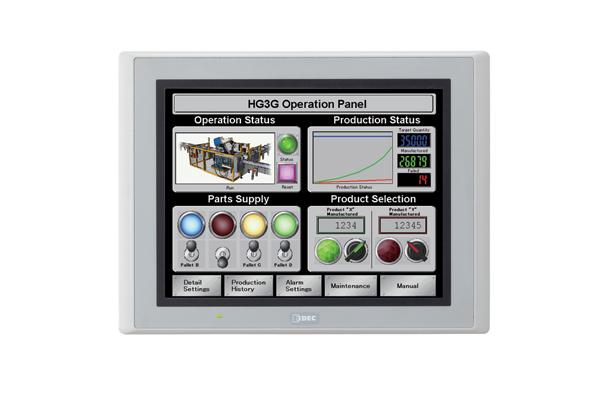 Picture of Màn hình cảm ứng IDEC HG3G-8JT22MF-W