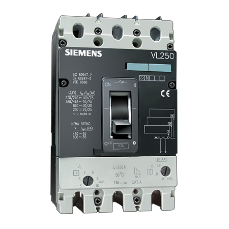 Picture of  MCCB Siemens   3VL3720-2DC36-0AA0
