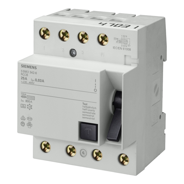 Picture of  RCCB Siemens 5SM1742-0