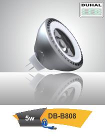 Picture of Bóng LED Duhal 5W, đường kính 50mm, cao 50mm DB-B808