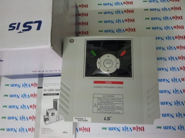 Picture of Biến tần LS iG5A, 2.2 kW 3 pha 380 VAC