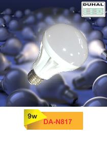 Picture of Bóng LED Duhal 9W, đường kính 78mm, cao 123mm, DA-N817