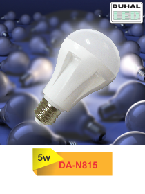 Picture of Bóng LED Duhal 5W, đường kính 61mm, cao 106mm, DA-N815