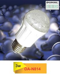 Picture of Bóng LED Duhal 3W, đường kính 50mm, cao 98mm, DA-N814