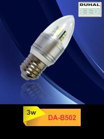 Picture of Bóng LED Duhal 3W, đường kính 35mm, cao 100mm DA-B502