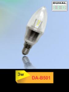 Picture of Bóng LED Duhal 3W, đường kính 35mm, cao 105mm DA-B501