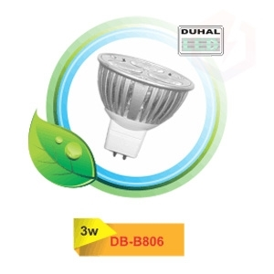 Picture of Bóng LED Duhal 3W, đường kính 50mm, cao 46mm DB-B806