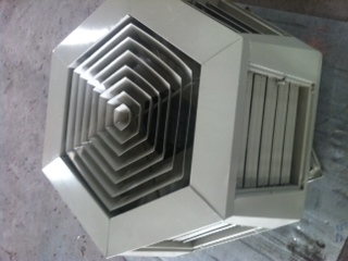Picture of Cửa gió 7 hướng dùng cho làm mát nhà xưởng - VN-DL09