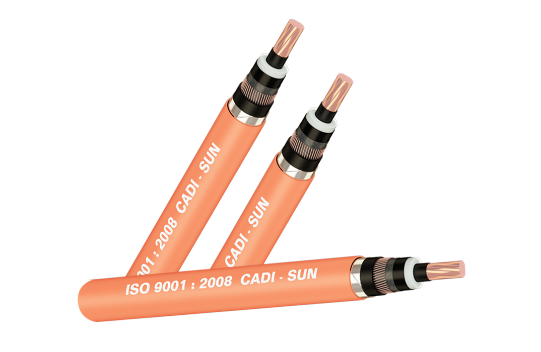 Picture of Cáp 1 lõi đồng, màn chắn băng đồng, không giáp, bọc PVC Cadisun-CXV/CTS-W 1x400-24kV