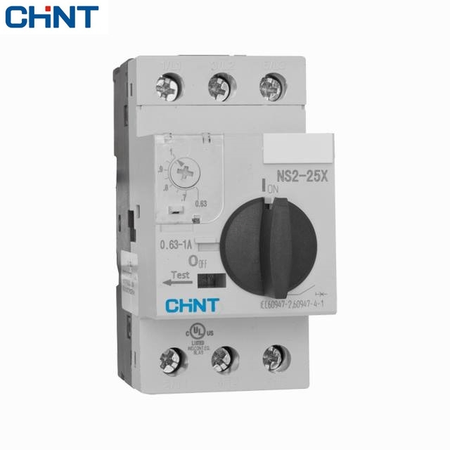 Picture of ELCB Chint NS2-25-1-1.6A, 3P, 230-690V