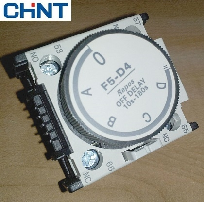 Picture of Timer thời gian cơ offdelay 0.1~30S Chint F5-D2