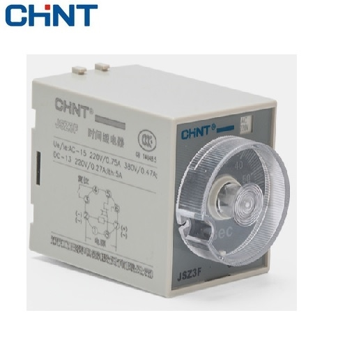 Picture of Timer off delay Chint 2NO-2NC JSZ3F JSZ3F-0.1-1
