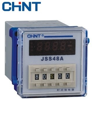 Picture of Timer on delay Chint (1~99,99h/m/s) Chint 2NO-2NC JSS48A-2Z