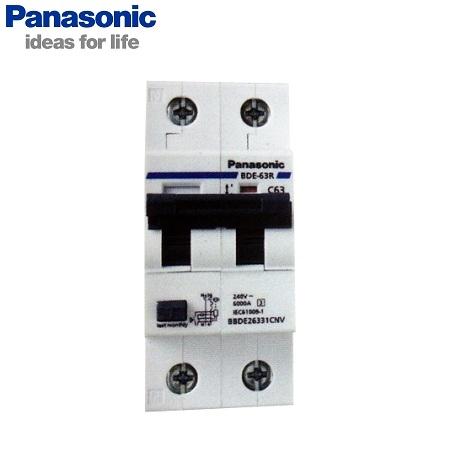 Picture of RCBO Panasonic BBDE20631CNV 2P, 6A, 6kA, 30mA, 240VAC