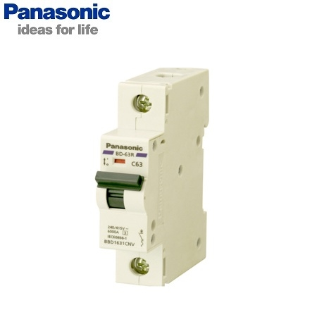Picture of MCB Panasonic BBD110011C 1P, 100A, 10kA