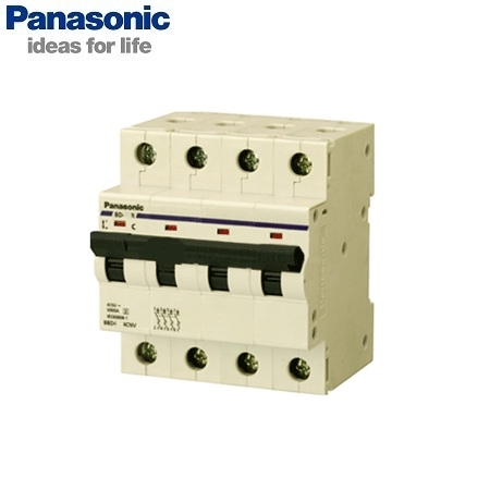 Picture of MCB Panasonic BBD4064CA 4P, 6A, 6kA