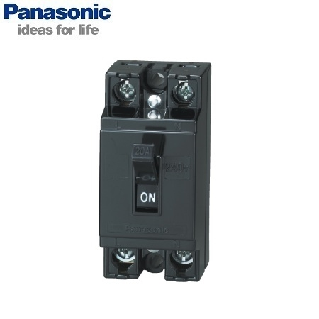 Picture of CB Panasonic BS1112TV 2P, 20A, 1.5kA, 240VAC
