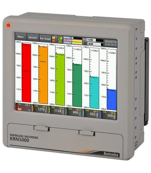 Picture of  Bộ ghi dữ liệu KRN1000-1221-0S Autonics
