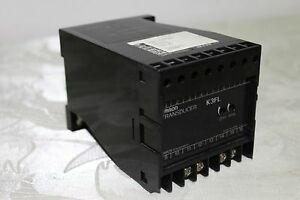 Picture of 2 channel type without power supply CT converter K3FL-AA2 Omron