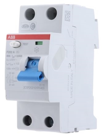 Picture of ABB MCB - F202 AC-63/0.5 2CSF202005R4630