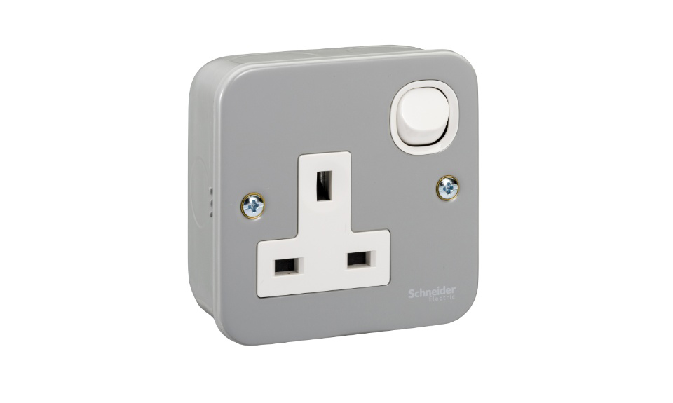 Picture of 13A 1G METALCLAD SOCKET