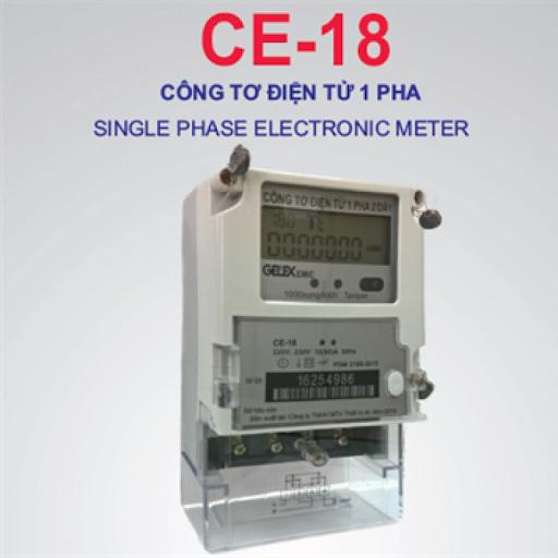 Picture of Công tơ điện Emic tử Emic 1 pha 1 giá đo xa công nghệ MESH 5(40)-10(80)A-220, 230V-CCX:1